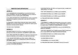 LIBRITO PROGRAMA S.ANTON 2015