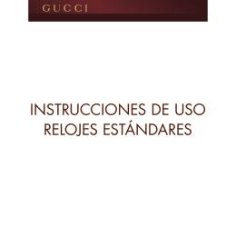 INSTRUCCIONES DE USO RELOJES ESTÁNDARES