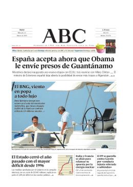 España acepta ahora que Obama le envíe presos de