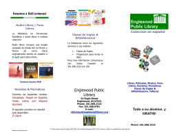 Brochure - Englewood Public Library