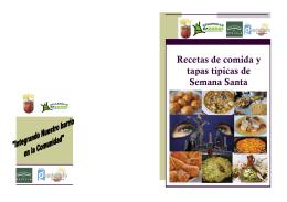 Recetas de comida y tapas típicas de Semana Santa