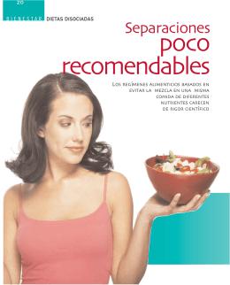 B_Alimentación Dietas disociadas