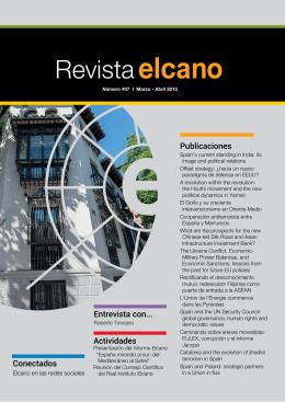 Descargar Revista Elcano Edición #07 - 2015 - PDF