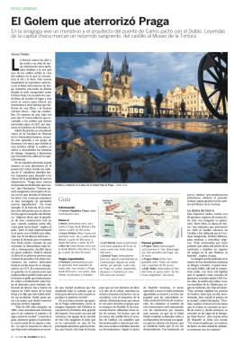 El Golem que aterrorizó Praga