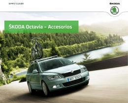ŠKODA Octavia – Accesorios