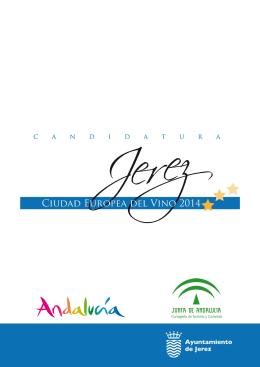 """Candidatura """"Jerez, Ciudad Europea del Vino 2014"""