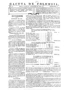 Gazeta de Colombia N°167 - Actividad Cultural del Banco de la