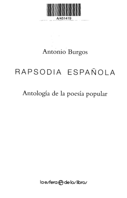 RAPSODIA ESPAÑOLA