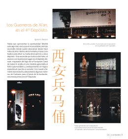 Los Guerreros de Xi`an, en el 4º Depósito.