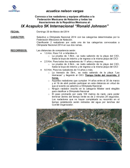 "IX Acapulco 5K Internacional ""Ronald Johnson"""