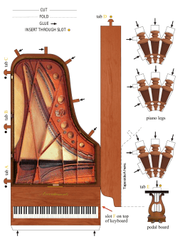 Fold-up Piano - Accoutrements