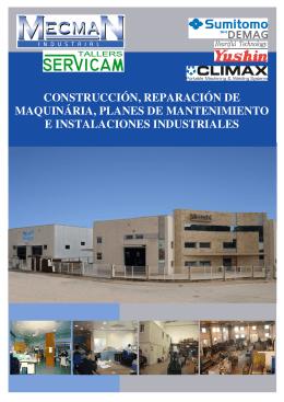 CONSTRUCCIÓN, REPARACIÓN DE MAQUINÁRIA