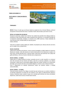 la ruta maya y cancun – mexico