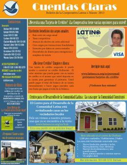 Cuentas Claras - Latino Community Credit Union