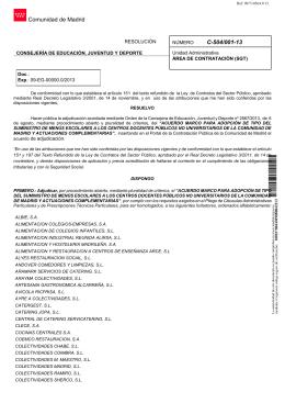 Comunidad de Madrid C-504/001-13