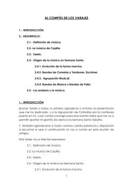 AL COMPÁS DE LOS VARALES