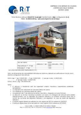 volvo fh16 64.660 tractora 6x4
