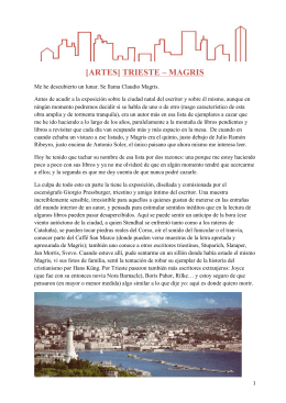 Trieste – Magris continúa en pdf