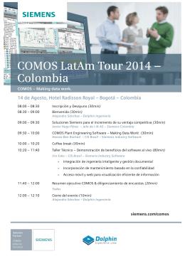 14 de Agosto, Hotel Radisson Royal – Bogotá – Colombia