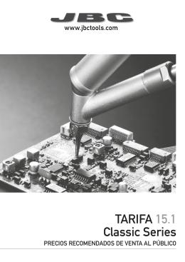 TARIFA 15.1 Classic Series