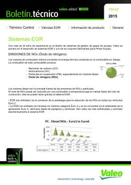 (2015.Sistema EGR de alta y baja presión)