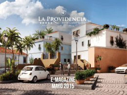 E-Magazine MAYO 2015 - La Providencia Resort & Country Club