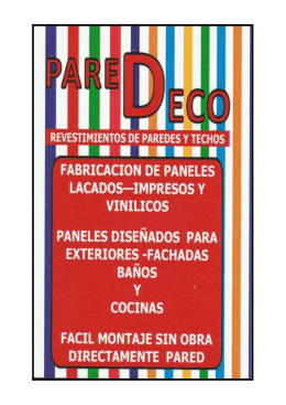 catalogo paredeco