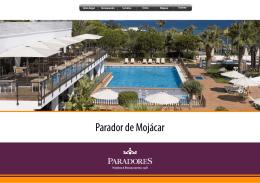 Más información sobre el Parador de Mojácar