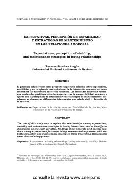 expectativas - Consejo Nacional para la Enseñanza e Investigación