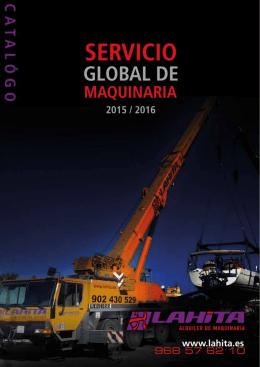 Catálogo - La Hita Alquiler de Maquinaria