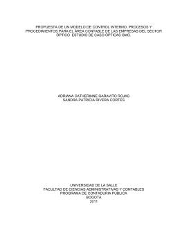 diseño de un manual de calidad bajo la norma iso 9001:2000 para