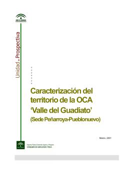 Valle del Guadiato - Consejería de Agricultura y Pesca