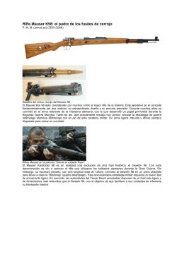Rifle Mauser K98: el padre de los fusiles de cerrojo