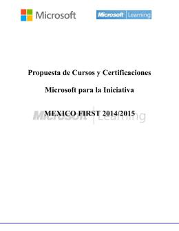 Detalles - Certificaciones 2015