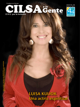 LuIsa KuLIOK una actriz espiritual