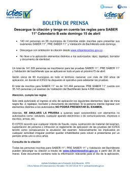 Instituto Colombiano para la Evaluación de la Educación Icfes
