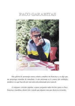 PACO GARABITAS - Santi Palillo