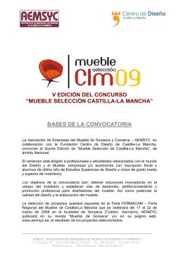 """v edición del concurso """"mueble selección castilla"""