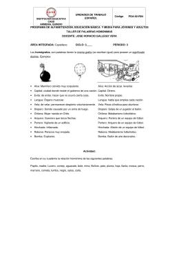 Guía Nº 7 - Institución Educativa CASD