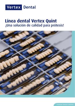 Premium Denture Solutions Línea dental Vertex Quint