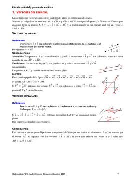 geometría analítica en el espacio.fm - Mosaicos