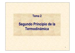 tema 2 segundo principio de la termodinámica