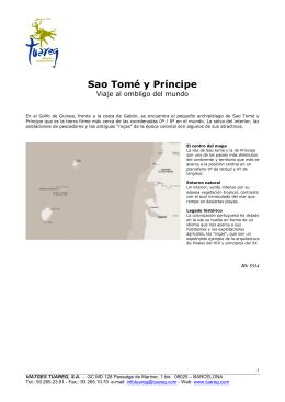 Sao Tomé y Príncipe > Viaje al ombligo del mundo
