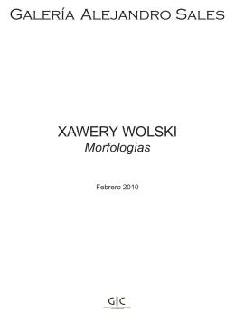 XAWERY WOLSKI - Galeria Alejandro Sales