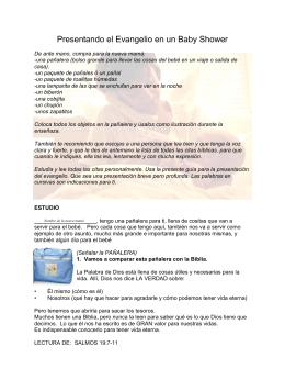 ESTUDIO PARA BABY SHOWER
