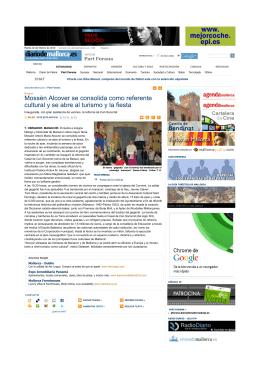Mossèn Alcover se consolida como referente cultural y se abre al
