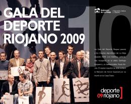 gala del deporte riojano 2009
