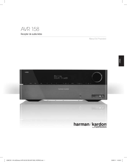 AVR 158 - Harman Kardon