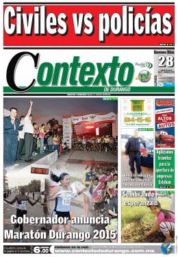 28/07/2014 - Contexto de Durango