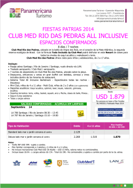 club med rio das pedras all inclusive usd 1.879
